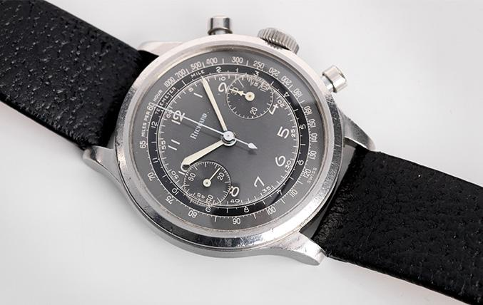 Richard Chronograph 1950s Two Tone Grey Dial