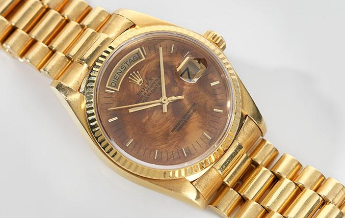 Rolex Day-Date Wood Dial 18038