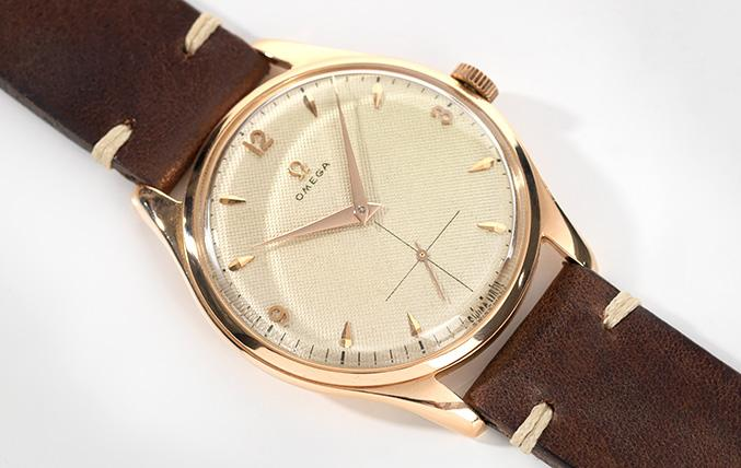 Omega Calatrava 1940s Large Case 38mm