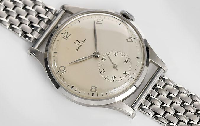 Omega Calatrava Dresswatch 1940s Large Case 38mm