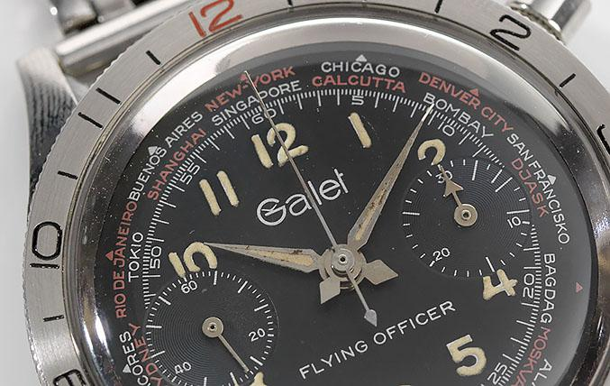 The Gallet Flying Officer Chronograph