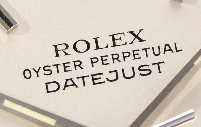 Rolex Datejust Flat Silver Dial 1603