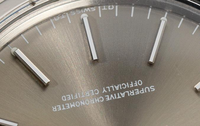 Rolex Date Grey Sigma Dial Reference 1500