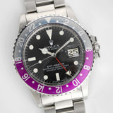 Rolex 1675 GMT Master Mk5 Maxi Dial Pink Lady