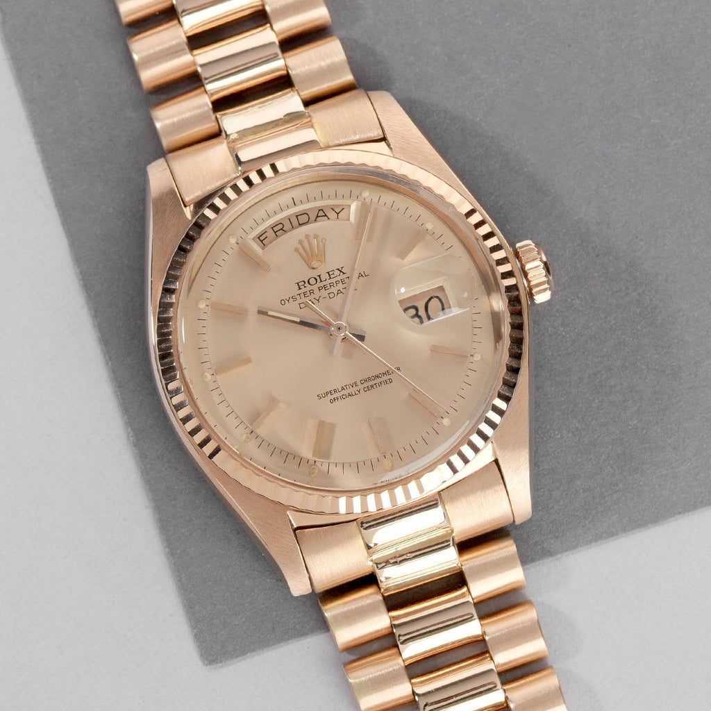 Red Gold Rolex Day-Date 1803