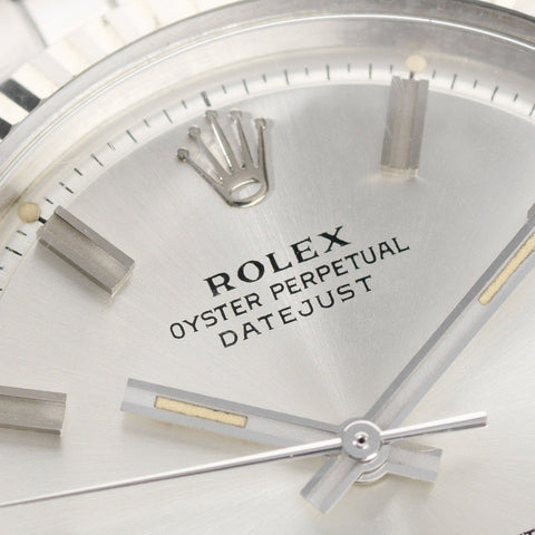 Rolex Datejust Reference 1601 Wideboy Dial