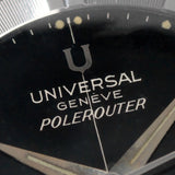 NOS Universal Geneve Polerouter Automatic Gilt Dial