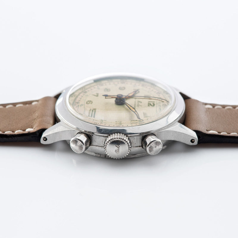 Mido Multi-Centerchrono Chronograph Watch 1940s