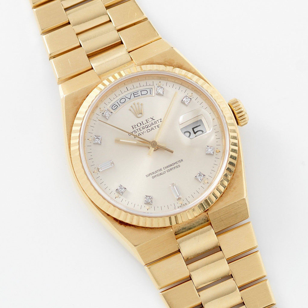 Rolex Oysterquartz Yellow Gold Day-Date 19018