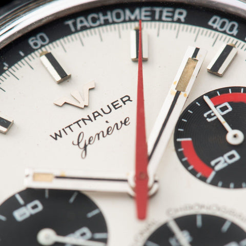 Wittnauer 242T Steel Chronograph