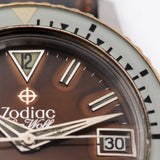 Zodiac Seawolf Tropical Gilt Dial with Papers