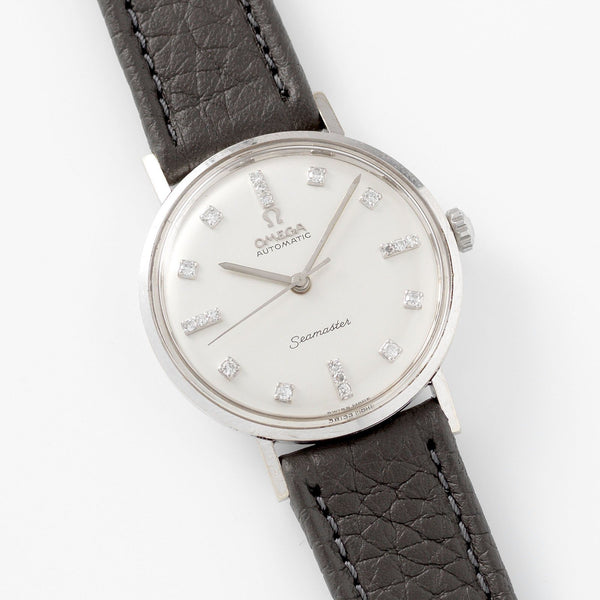 Vintage Omega White Gold Seamaster Dress Watch