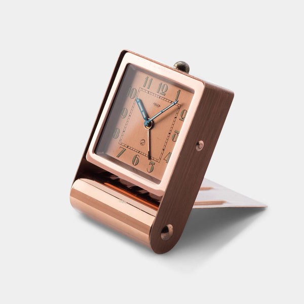 Art Deco style desk clock by Jaeger Le Coultre