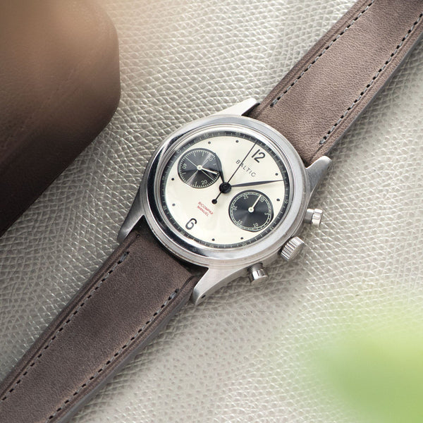 Montmartre Brown Leather Watch Strap