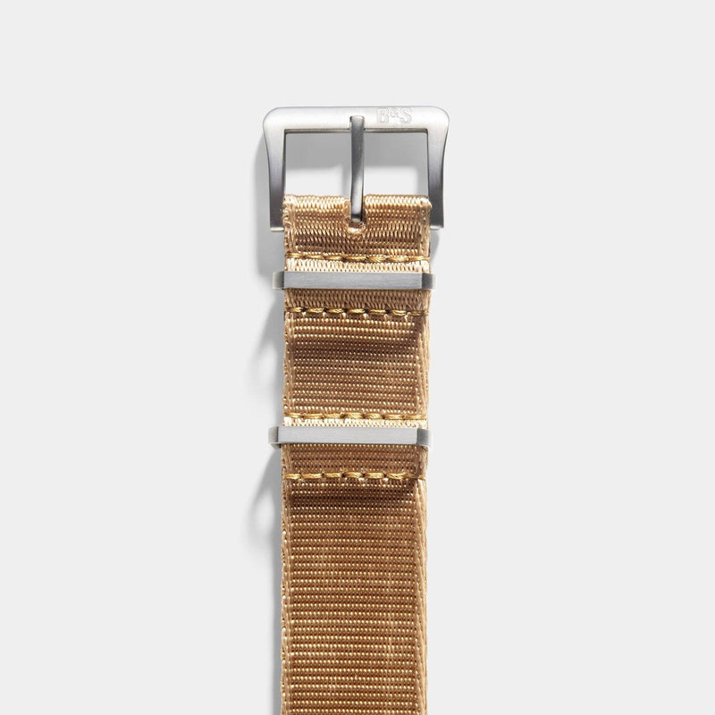 Deluxe Nylon Nato Watch Strap Coyote Brown
