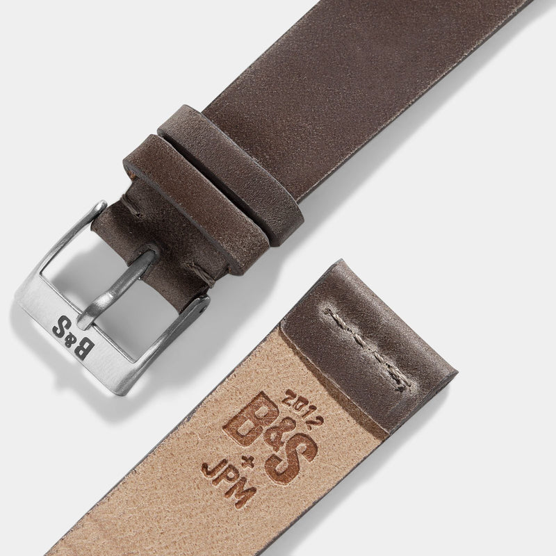 Cavallo Faded Brown Cordovan Leather Watch Strap