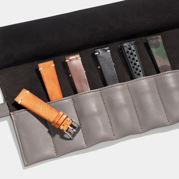Curated 5 Leather Watch Strap Set