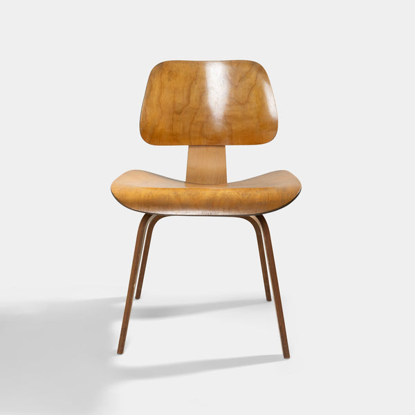 1950s Eames DCW Wood Dining Chair