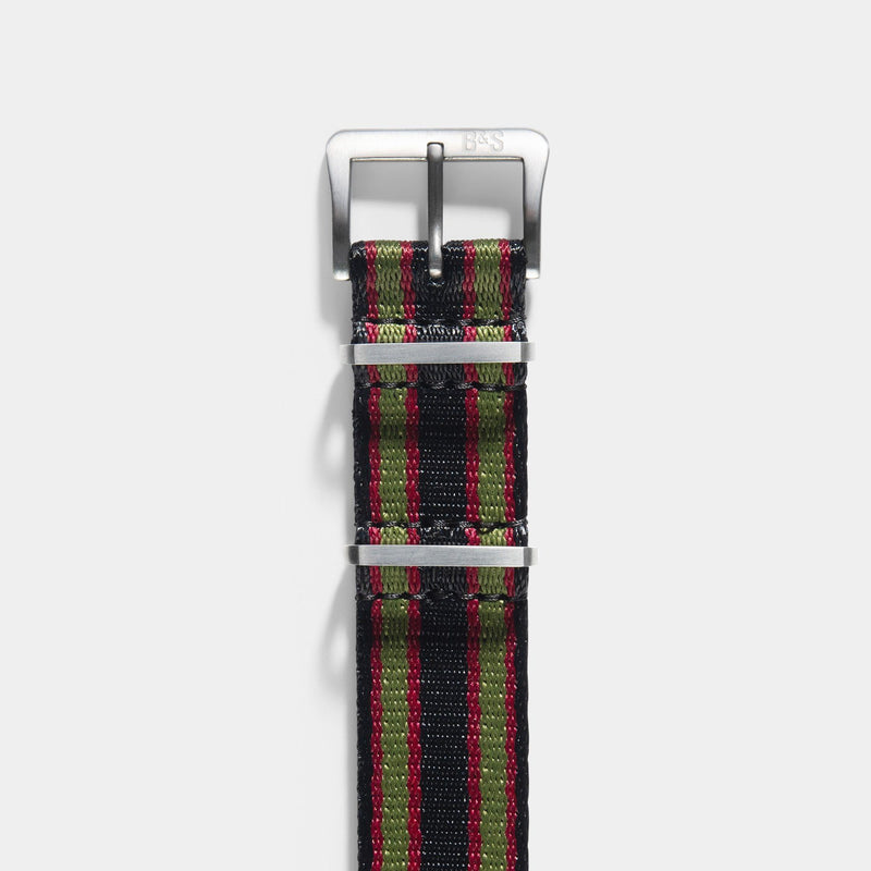 Deluxe Nylon Nato Watch Strap 007 Edition