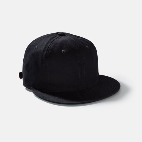 Ebbets Field Black Cotton Vintage Ballcap
