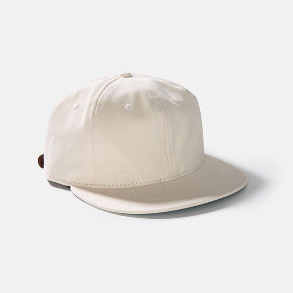 Ebbets Field Off White Cotton Vintage Ballcap