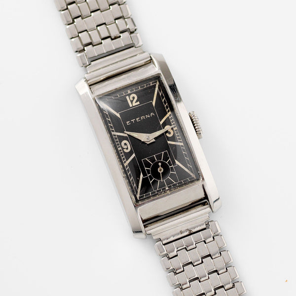 Eterna Steel Dress Watch 1940s