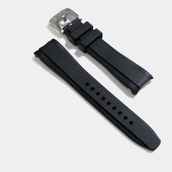 Everest Curved End Rubber Strap - ONLY For Rolex Sea Dweller 43mm