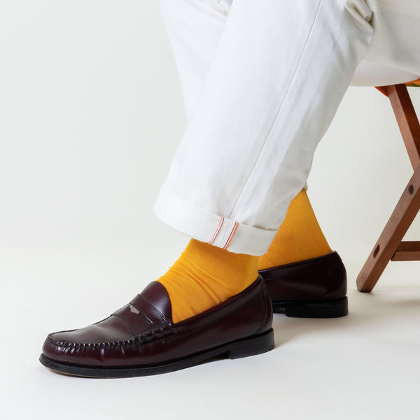 Falke Tiago Rich Yellow Socks