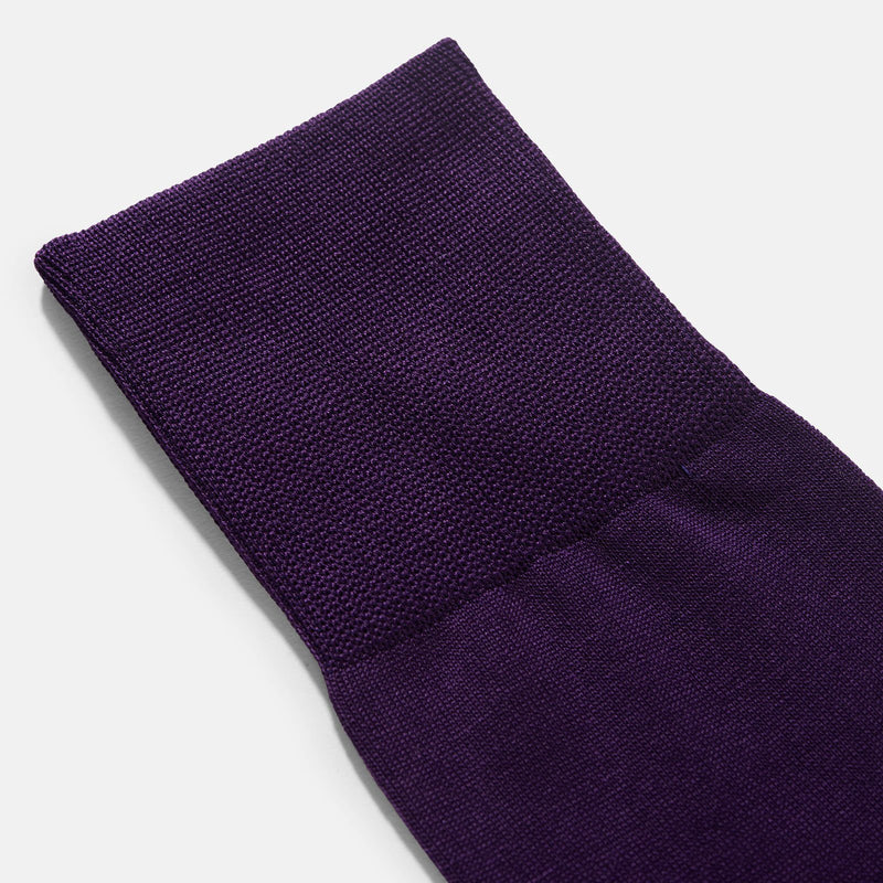 Falke Tiago Petunia Purple Socks 3