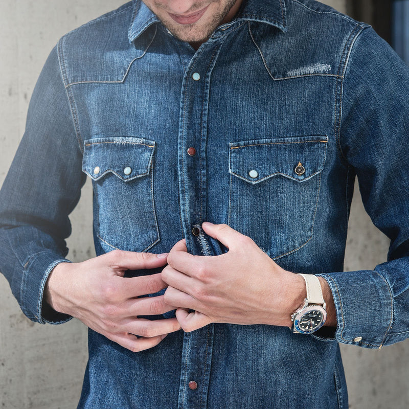 Fortela Newman Texana Denim Shirt