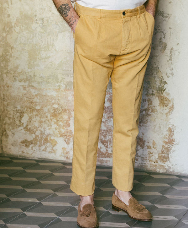 Fortela Pences Pale Yellow Pants