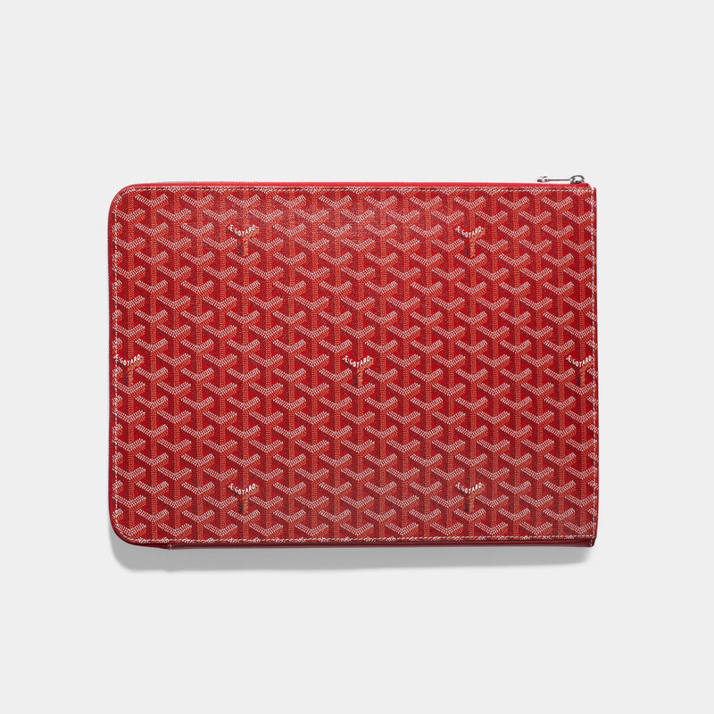 Goyard Red Porte Documents Sorbonne