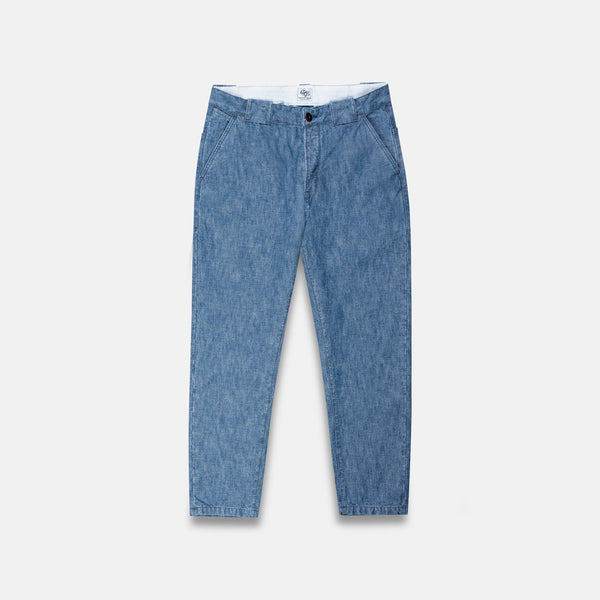 Grivec Bros Blue Chambray Locker Chino