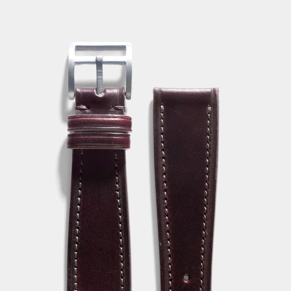 St. Émilion Brown Leather Watch Strap