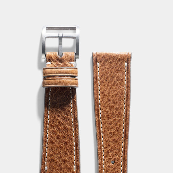 Bohémien Brown Leather Watch Strap
