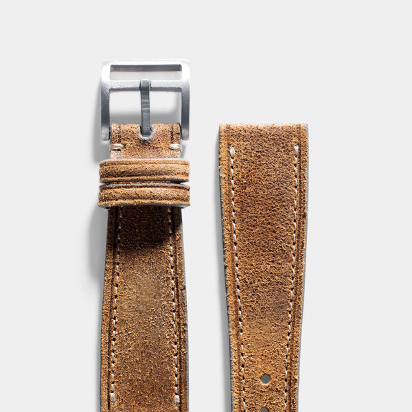 Le Marais Brown Leather Watch Strap