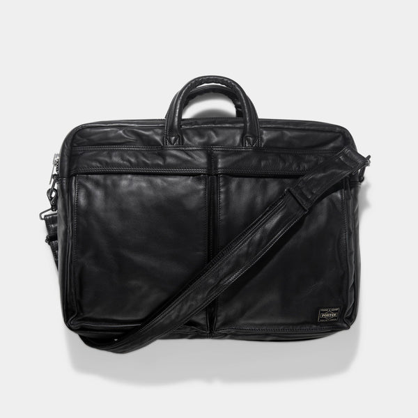 Limited Edition Porter Tanker Leather 2Way Briefcase