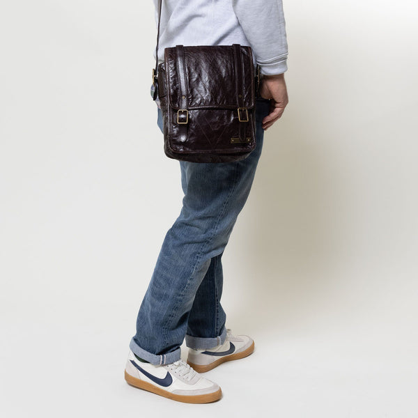 Louis Vuitton Brown Kangaroo Leather Soana
