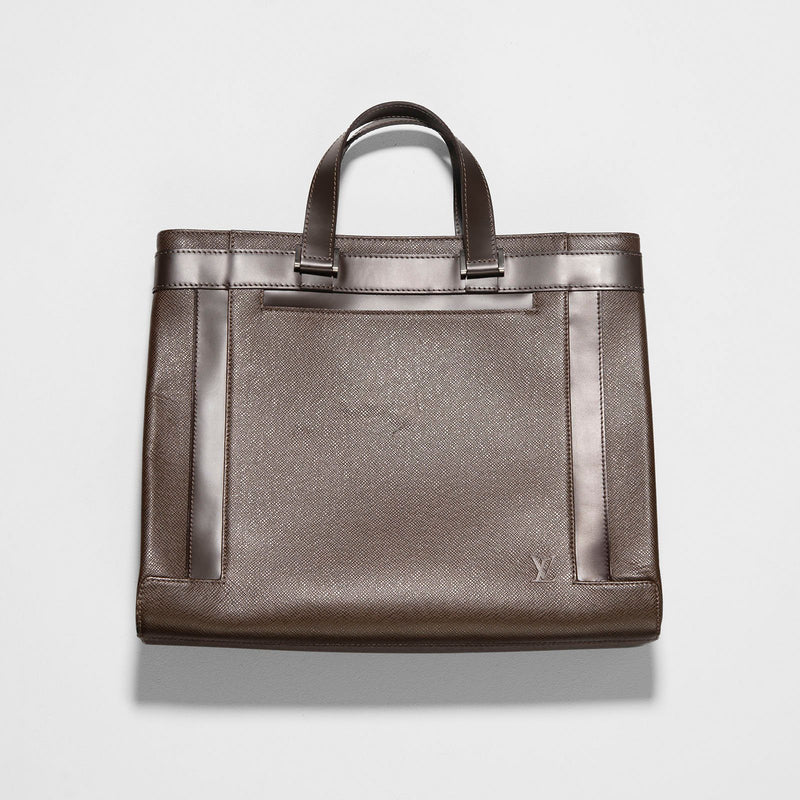 Louis Vuitton Brown Kazbek Taiga Leather Bag