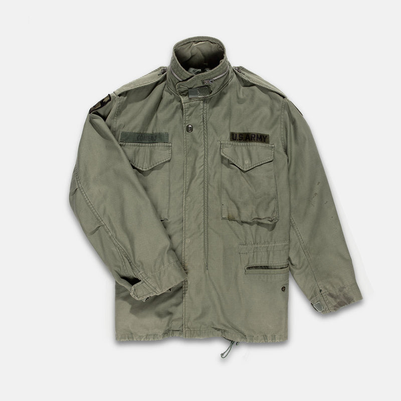 1969 Vintage M-65 Field Jacket Fits Large Short