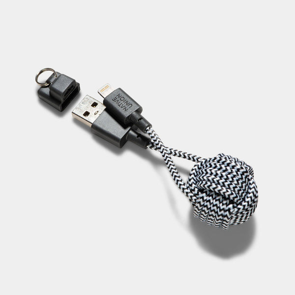 Native Union Key Cable Zebra