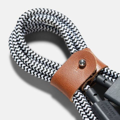 Native Union Belt Cable Zebra