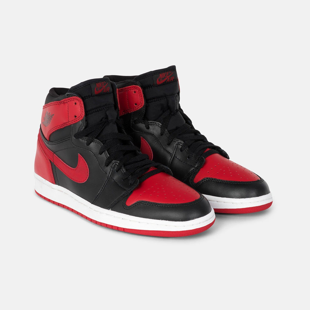 2001 Nike Air Jordan 1 Bred US 10.5 136066-061 1