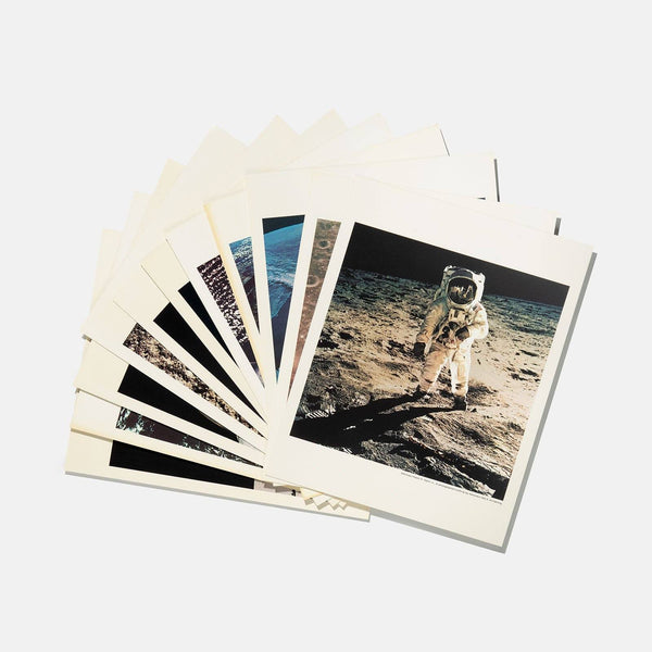 Limited Edt. 1969 Nasa Oversized (40 x 50)  Photo Set Presented By Omega