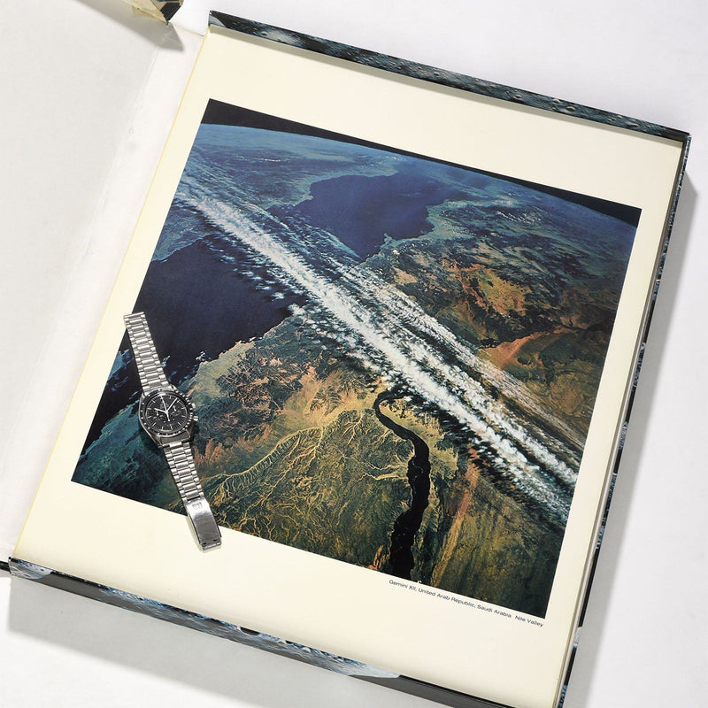 Limited Edt. 1969 Nasa Oversized Photo Set Presented By Omega