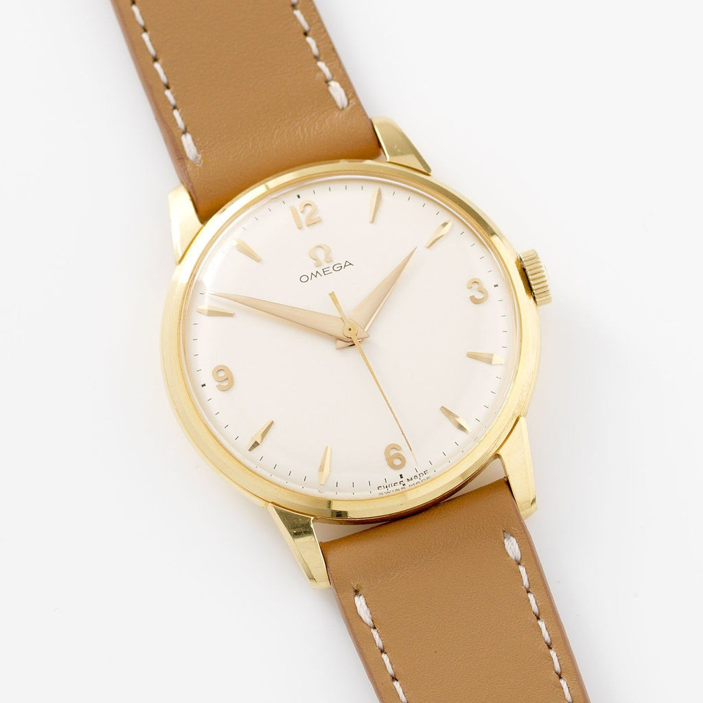 Omega Yellow Gold Dress Watch Cal.284