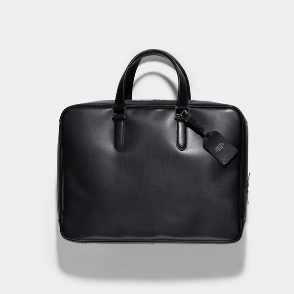 Porter Black Leather Sort Briefcase