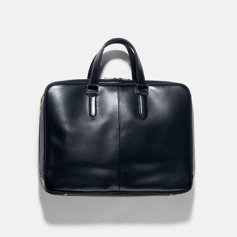 Porter Blue Leather Sort Briefcase S