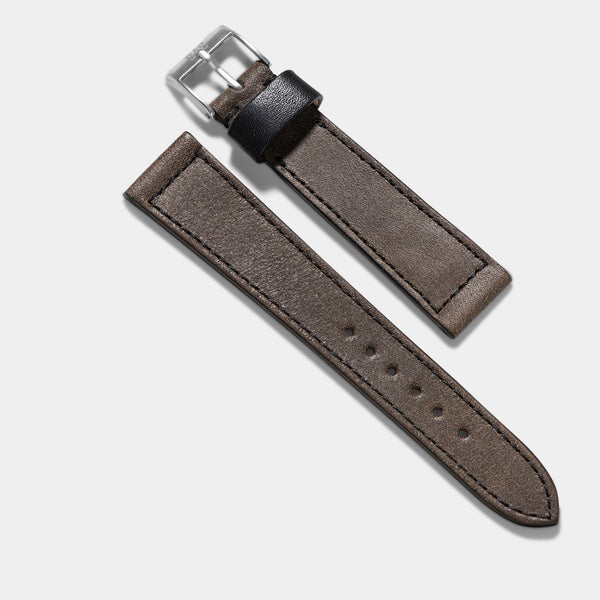 Ravello Brown Leather Watch Strap