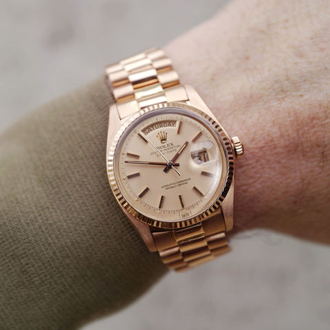 Rolex Red Gold Day-Date 1803